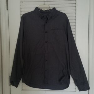Mens North Face thermal button up